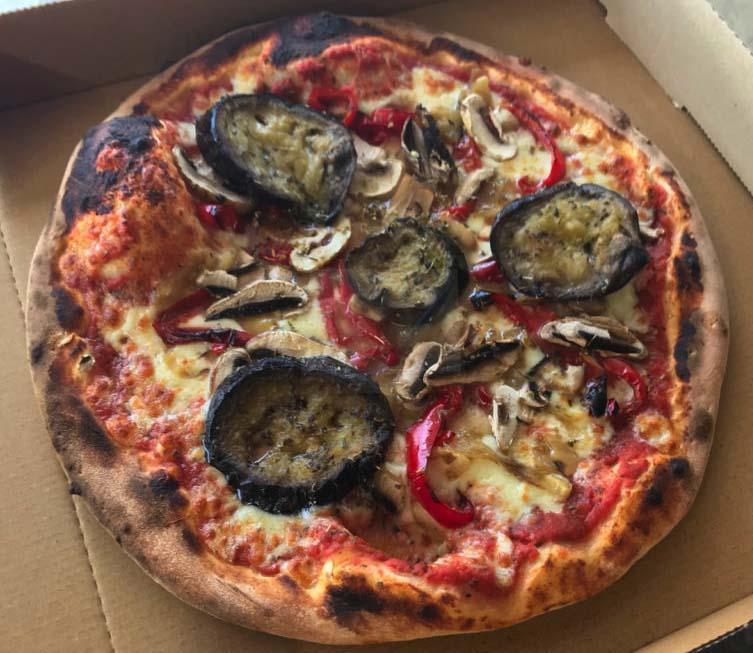 La-Vegie pizza